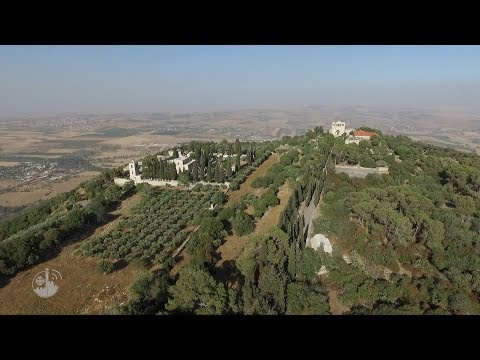 Solem Mass on Frest of the Transfiguration of the Lord, from Mount Tabor, Holy Land 2018