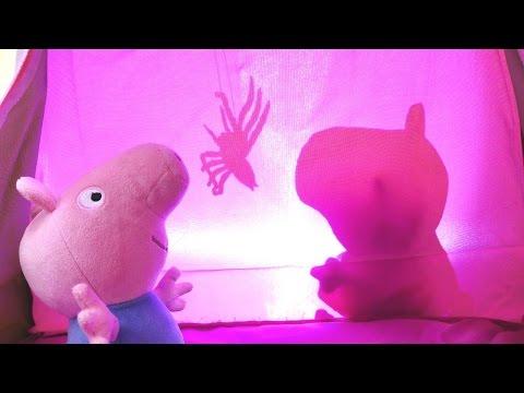 СВИНКА ПЕППА новая серия! Мультик из игрушек про Свинку Пеппу 🐷! КАРАУЛ! В палатке ПАУК 🕷️! (видео)