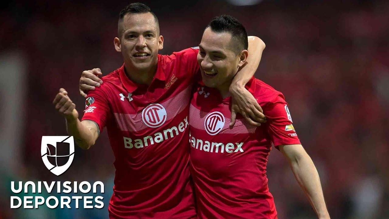 Con mucho sufrimiento y siendo ampliamente superado, Toluca está en semifinales
