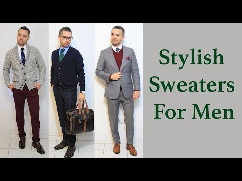 The Most Stylish Sweaters For Men | Fall Style Lookbook