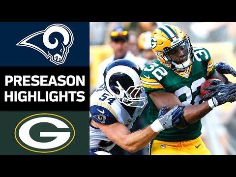 Rams vs. Packers | NFL Preseason Week 4 Game Highlights - Thời lượng: 5:11.