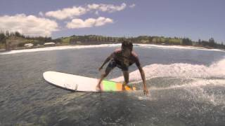 A couple of sessions with Jack Entwistle on Norfolk Island