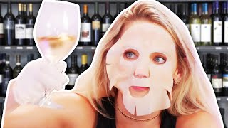 9 Beauty Products Made From Red Wine! (Beauty Break) by Clevver Style