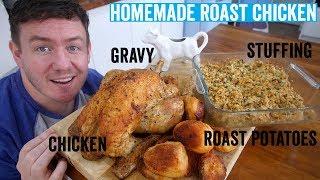 How to make a roast dinner #2 | Roast Chicken by  My Virgin Kitchen