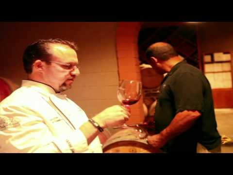 Cellar tour at Fallbrook Winery in Southern California.m4v