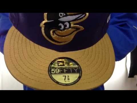 Orioles '2T-FASHION' Purple-Gold Fitted Hat by New Era
