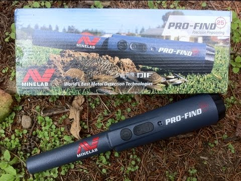 garett fisher minelab - Field Test video: https://www.youtube.com/watch?v=WCGAhi_2HcI You need to watch the field test before considering the Minelab pro-find 25 as a pointer. These...
