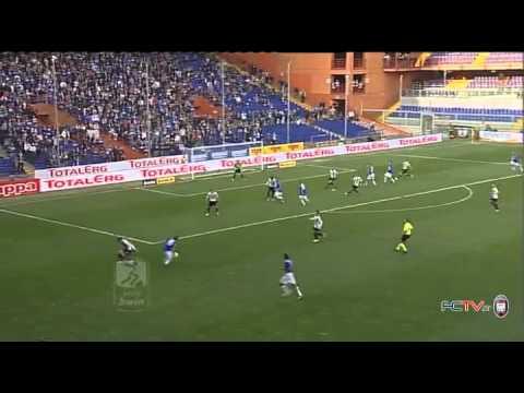 Bwin, Crotone battuto due a zero al Marassi dalla Sampdoria