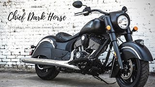 5. NEW 2018 Indian Chief Dark Horse power-cruiser category (1,811 cc)