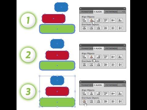 Alignment of Adobe illustrator - for beginners