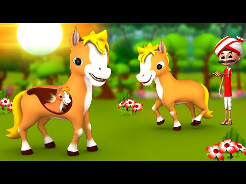 गर्भवती घोड़ा - Pregnant Horse Kahani   Hindi Moral Stories   JOJO TV Hindi Fairy Tales