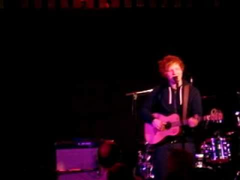 Ed Sheeran-wake me up (pt 1) @ the Bedford