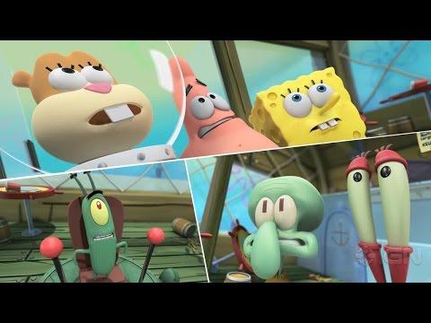 Spongebob Hero Pants The Game 2015 (3DS)