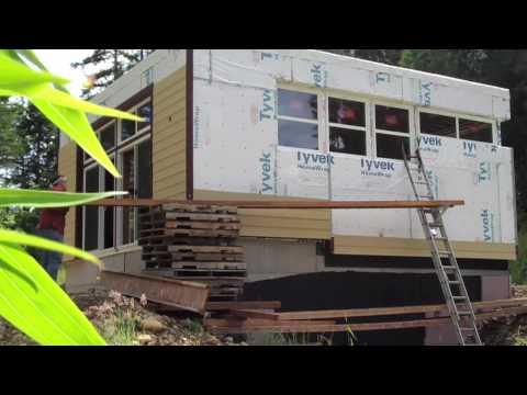 Solar Powered Home: Siding