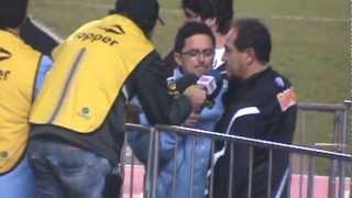 Final do Campeonato Paulista 2012. Santos FC, Tri Campeão Paulista. Gols: Neymar (2), Alan Kardec (2).