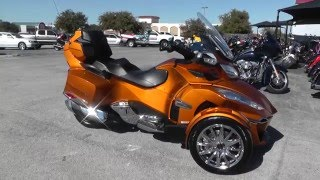 6. 004798 - 2014 Can Am Spyder RT SE6 LIMITED - Used Motorcycle For Sale