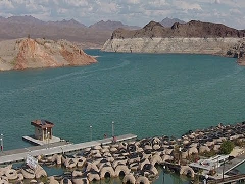 drought - Nevada's Lake Mead, the nation's largest reservoir, has hit an all time-low since it was first filled in the 1930s, raising concerns that a water shortage co...