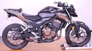 2. 2016 Honda CB500F