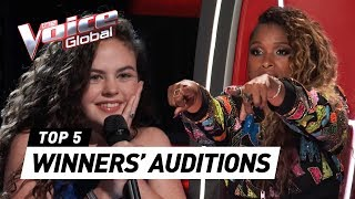 Video BEST WINNERS' AUDITIONS in The Voice Worldwide MP3, 3GP, MP4, WEBM, AVI, FLV April 2019