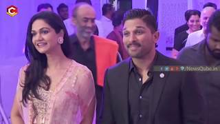 Video Allu Arjun Totally Changes his Behavior | Naga Chaitanya and Samantha Reception | NewsQube MP3, 3GP, MP4, WEBM, AVI, FLV November 2017