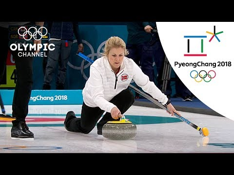 Norway's Surprising Curling Victory over Canada   Day -1   Winter Olympics 2018   PyeongChang (видео)