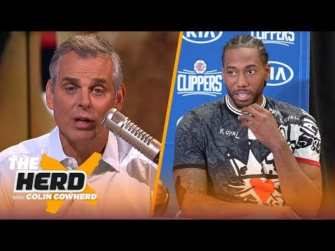 Colin questions if Clippers can handle pressure, says Lakers are still better brand | NBA | THE HERD