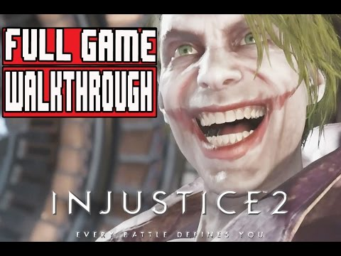 INJUSTICE 2 Gameplay Walkthrough Part 1 FULL GAME (PS4 Pro) - No Commentary (видео)