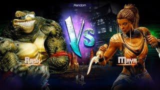 Killer Instinct - Fight 21 - Rash(Holder) vs Maya(Challenger)