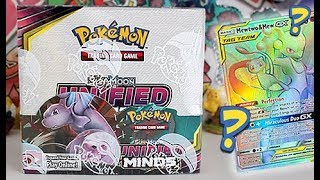 NEW Pokemon Unified Minds Booster Box Opening by Unlisted Leaf