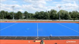 UMass Lowell Wicked Blue Astro Turf Installation Time Lapse (:34)