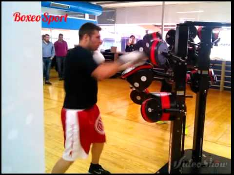 "Spanish Boxers Ivan Salcines & Manuel ""the canary"" Fernandez"