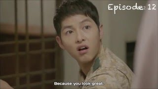Video Descendant of the Sun funny cute + kiss scene [2/3] MP3, 3GP, MP4, WEBM, AVI, FLV Januari 2018