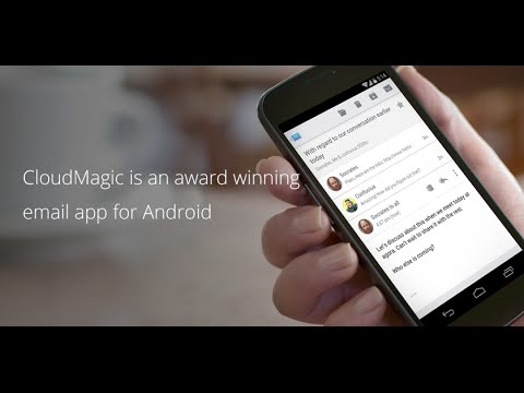 Video of CloudMagic Email