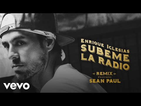 Enrique Iglesias - SUBEME LA RADIO REMIX (Official Lyric Video) ft. Sean Paul