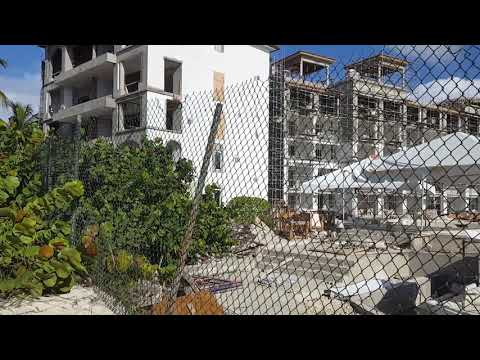 Sandals Royal Barbados Construction Update 8/2017