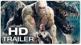 Video RAMPAGE Movie Clip George vs Giant Crocodile (2018) Dwayne Johnson Monster Movie Trailer HD MP3, 3GP, MP4, WEBM, AVI, FLV September 2018