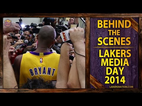 Video: Lakers Nation: Behind The Scene Of Lakers Media Day 2014