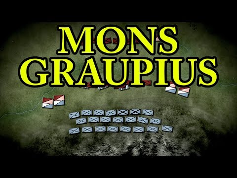 The Battle of Mons Graupius 83 AD