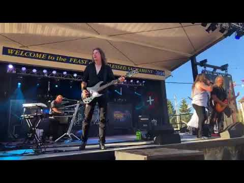 Back in the Day Band at Madeira Feast New Bedford Ma. 8/3/18