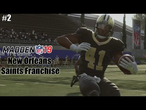 New Orleans Saints Franchise - Madden 19 Franchise Mode Gameplay | Ep.2