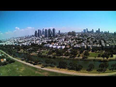 Tel Aviv-Yafo Drone Video