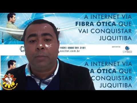 Corrêa da Fibra Socitel o Homem que está Trazendo a Internet de Fibra Ótica Para Juquitiba