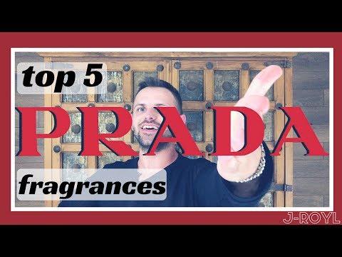 TOP 5 PRADA FRAGRANCES | MEN'S FRAGRANCE | TOP 5 FRIDAY