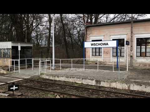 Wideo1: Przywitanie pociągu z Głogowa na wschowskim dworcu