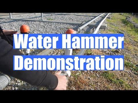 Water Hammer Demonstration