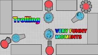 Diep.io Trolling in Maze! Very Funny Moments!! What people doi...