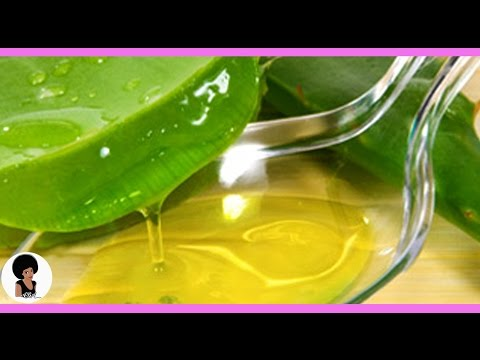 comment appliquer le gel d'aloe vera sur le visage