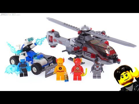 LEGO DC Super Heroes Speed Force Freeze Pursuit review! 76098