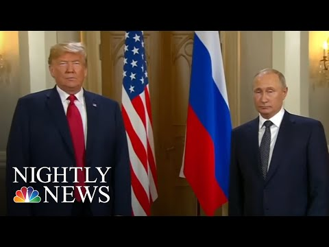Russian TV Praises Vladimir Putin After President Donald Trump Meeting | NBC Nightly News