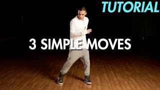 Video 3 Simple Dance Moves for Beginners (Hip Hop Dance Moves Tutorial) | Mihran Kirakosian MP3, 3GP, MP4, WEBM, AVI, FLV Maret 2019